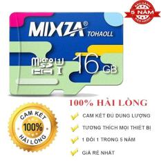 Thẻ nhớ Micro SD Mixza 16GB tốc độ đọc 80MB /s DHR10