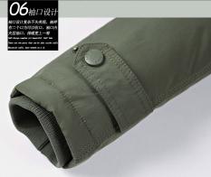 Áo khoác nam pilot túi hộp lót nhung nhập khẩu cao cấp chống nước chống gió