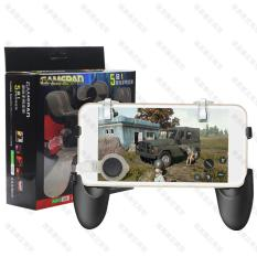 Bộ tay cầm chơi game 5 in1 tặng kèm nút di chuyển – Nút chơi game PUBG S4 thế hệ mới – Tay cầm chơi game 5 trong 1 – Tay cầm chơi game PUBG (Màu đen)