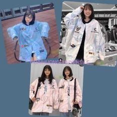 Áo Khoác Bomber Nữ Loang Đầu Cún Yêu Tên Form Rộng H&H CLOTHES – Áo Khoác Bomber Nữ Chất Liệu Nỉ Ép Không Xù Đủ Size Lựa Chọn -Áo Nữ Kèm Ảnh Thật