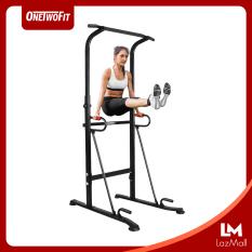 OneTwoFit Xà đơn xà kép Home Fitness Pull up Bar Push Up-Weight có thể điều chỉnh chiều cao 98cm*78cm*(185cm-236cm) OT130