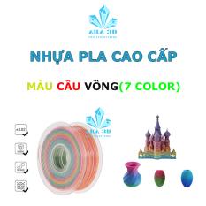 Nhựa PLA in 3D cầu vòng , nhựa in 3D PLA Rainbow Hàng hiếm