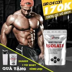 COMBO 2 túi Sữa Tăng Cơ Whey Protein Isolate NZMP + Tặng bình lắc Shaker 700ml