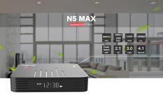Android Tivibox Magicsee N5 MAX – RAM 2GB, ROM 16GB, Dual Wifi – Bluetooth 4.1 – Chip S905X2 Siêu Khủng