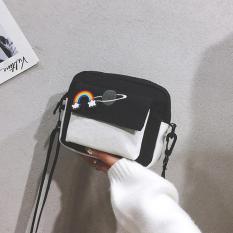 Túi đeo chéo đeo vai nữ mini vải tote kiếu dáng hàn quốc họa tiết dễ thương UKS2477-TXN98