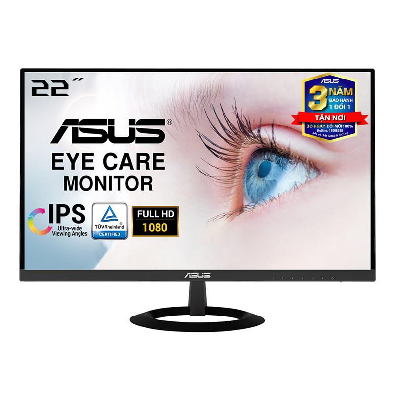 Màn hình Asus VZ229HE (21.5 inch/FHD/LED/IPS/HDMI+VGA/250cd/m²/60hz/5ms) – Hàng Chính Hãng