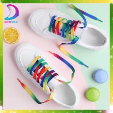 Dây giày 7 màu siêu hot hit DOZIMAX- dây dài 1m phù hợp cho tất các các loại giày thể thao nam nữ (1 cặp)