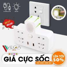 Ổ Cắm Điện – Ổ Điện Đa Năng Loại Xịn Có Cổng Gắn USB Sạc Điện Thoại Kiêm Đèn Ngủ Cực Đẹp – Ổ điện chia 2 cổng USB kiêm đèn ngủ, Ổ CẮM ĐIỆN THÔNG MINH KIÊM ĐÈN NGỦ LED & 2 CỔNG USB CÓ CÔNG TẮC ( Giao mầu ngẫu nhiên )