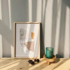 Khung ảnh để bàn FEGO size A3, A4, A5/ Khung tranh bằng gỗ treo tường để ảnh, thiệp, ép lá trang trí decor nhà cửa