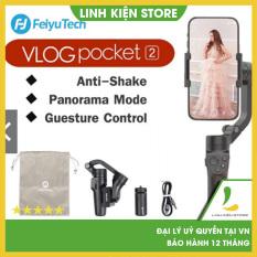 [HCM]Gimbal chống rung Feiyu Vlog Pocket 2 – tay cầm chống rung cho điện thoại – pin 8H -Bảo hành 12 tháng