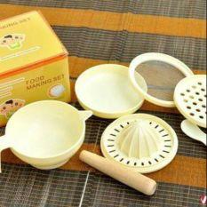 Bộ đồ dùng chế biến ăn dặm cho bé 7 dụng cụ Food Making Set