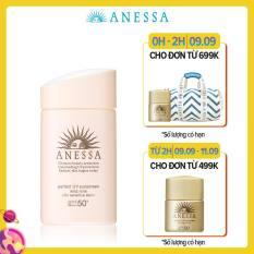 Kem chống nắng dịu nhẹ dạng sữa cho da nhạy cảm và trẻ em Anessa Perfect UV Sunscreen Mild Milk 60ml