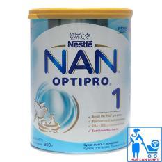 Sữa Bột Nestlé NAN Nga Optipro 1 – Hộp 800g (Dành cho trẻ 0-6 tháng tuổi )