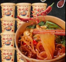 1 hộp miến chua cay Trùng Khánh thùng 6 hộp, đồ ăn vặt nội địa Trung Quốc Susuto Shop