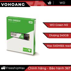 SSD M2 Sata 240GB WD Green – Chính hãng, tốc độ cao