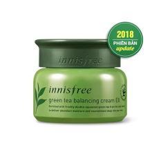 Kem Dưỡng Da Innisfree Green Tea Balancing Cream EX 50ml