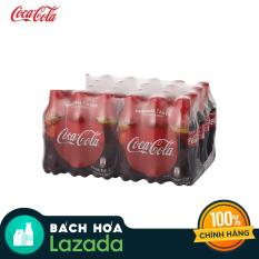 Thùng 24 Chai Nước Giải Khát Coca Cola 390ml
