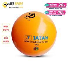 Bóng chuyền hơi Jatan 200g và 250g chính hãng Động Lực – Kem kim bơm và lưới đựng bóng