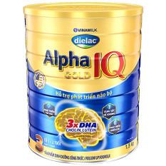 Sữa Dielac Alpha Gold 3 lon 1500gr