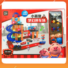 Đồ Chơi Noel – Đường Đua Peppapig Ngộ Nghĩnh – Đồ Chơi Trẻ Em Toy Mart