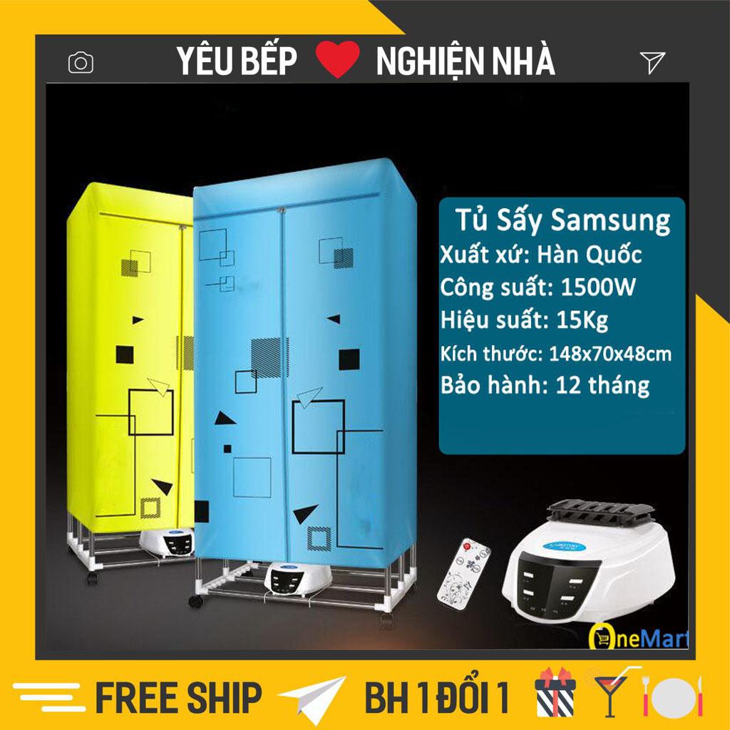 Tủ sấy quần áo Samsung HD-882F tiết kiện năng lượng điện có điều khiển từ xa UV sấy khô-Tủ sấy...