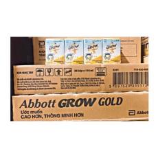 Thùng Sữa Bột Pha Sẵn Abbott Grow Gold 110Ml