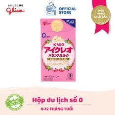 [FREESHIP TOÀN QUỐC] Sữa dinh dưỡng Glico Icreo Balance Milk Stick Số 0 dành cho bé từ 0-12 tháng tuổi (12.7g x 10 thanh) – 100% nội địa Nhật Bản – HSD tối thiểu 10 tháng