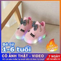giày thể thao mi thỏ phát sáng-Giày bé gái – giay be gai – giày cho bé gái – giay cho be gai – giày trẻ em – giày thể thao cho bé gái
