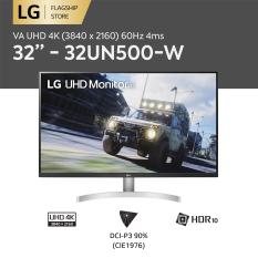 [TRẢ GÓP 0%] Màn hình máy tính LG VA UHD 4K (3840 x 2160) 60Hz 4ms 32 inches l 32UN500-W l HÀNG CHÍNH HÃNG
