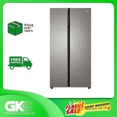 TRẢ GÓP 0% – Tủ lạnh Aqua Inverter 576 lít AQR-IG696FS GP- Bảo hành 12 tháng