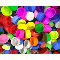 100 Nắp Chai Nhựa Nhiều Màu – Thủ Công Mầm Non