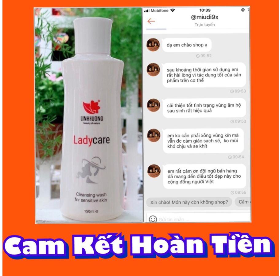 ( CHÍNH HÃNG 100% ) Dung dịch vệ sinh phụ nữ Lady Care Linh Hương