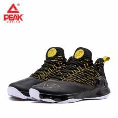 Giày bóng rổ PEAK Tony Parker VI E83323A – Đen Vàng