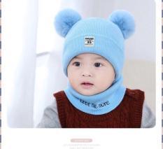 Bộ nón len và khăn ống mềm xinh (Cho bé trai và gái từ 6-36 tháng)