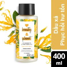 Dầu xả phục hồi hư tổn Love Beauty And Planet Hope And Repair 400ml