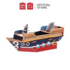 Đồ chơi ghép hình Miniso du thuyền 3D – Hàng chính hãng