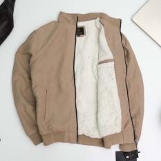 Áo khoác da lộn lót lông- Chất liệu Da lộn cao cấp, mặt vải đanh mịn – Thiết kế lót lông mềm, mịn và giữ ấm cực tốt – Form ôm gọn, đứng dáng – AK01