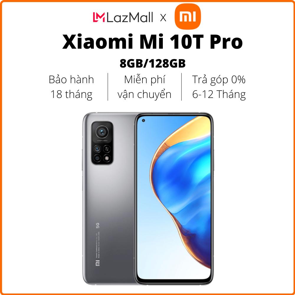 Điện thoại Xiaomi Mi 10T Pro 5G (8GB/128GB) – Hàng chính hãng DGW – Bảo hành 18 tháng – Trả góp 0%