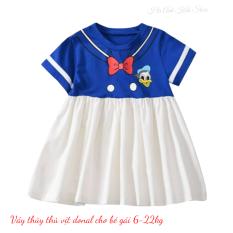 Váy cho bé gái mẫu thủy thủ vịt donal 6-20kg