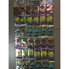 hàng hót 36 gói thẻ bài pokemon gói 8 bài mã DE345