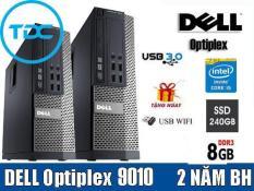 Case DELL Optiplex 7010/9010 (CORE i5 RAM 8Gb SSD 240GB ) TẶNG usb thu wifi. Dùng cho văn phòng, học tập, giải trí. Bảo hành 24t