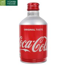 Nước ngọt có ga Coca Nhật Chai Nhôm lùn nắp vặn 300ml