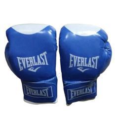 Găng đấm boxing Everlast 10oz (Xanh) Binhansport