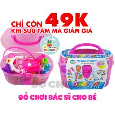 [HCM]Bộ đồ chơi thông minh cho bé mẫu đồ chơi bác sĩ gồm 18 dụng cụ bác sĩ màu hồng đáng yêu cho bé gái giúp bé phát triển trí tuệ as – Thị trấn đồ chơi