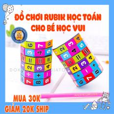 Đồ chơi trẻ em – rubik toán học, đồ chơi xếp hình toán học vui nhộn giúp bé học toán vui – đồ khuyến mãi giá tốt