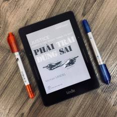 Máy đọc sách Kindle Voyage (7th) bộ nhớ 4GB, màn hình 6inch 300PPI sắc nét có đèn nền với phím chuyển trang Page Press