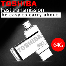 64GB 2 in 1 Micro USB OTG Flash Drive USB 2.0 Zinc Metal U Disk Compatible with Android Devices