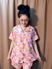 Pijama đùi cotton ngắn