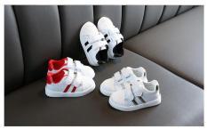 Giày Sneaker 2 sọc bé trai chất lượng