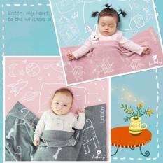 Chăn len Lullaby NHL 12-17 (chọn màu) chăn lullaby cao cấp dành cho bé trai bé gái